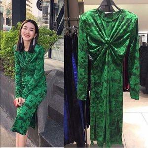 Zara Twisted Dress NWT